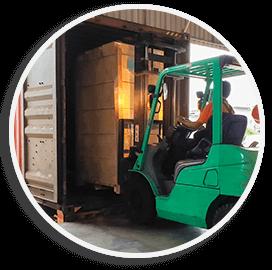 Container Loading & Unloading | Addicon Logistics