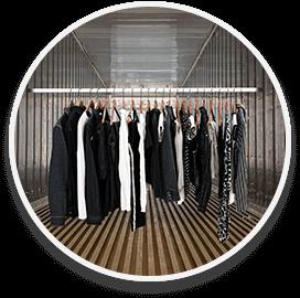 Garments on Hanger | Addicon Logistics